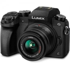 ihocon: Panasonic Lumix DMC-G7 Mirrorless Digital Camera - Black w/14-42mm Lens