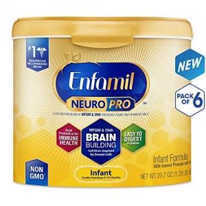 ihocon: Enfamil NeuroPro Infant Formula, 20.7 oz (Pack of 6)嬰兒奶粉