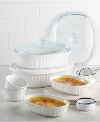 ihocon: Corningware French White 10-Pc. Bakeware Set