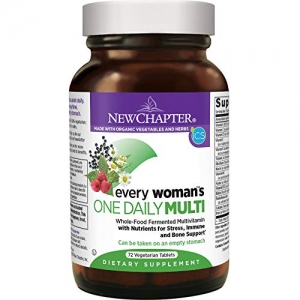 ihocon: New Chapter Every Woman's One Daily Multivitamin with Probiotics - 72 ct 女士綜合維他命, 含益生菌