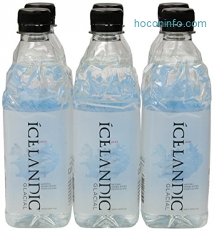 ihocon: Icelandic Glacial Natural Spring Water, 500 Milliliter, 6 Count