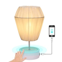 ihocon: Keymit LED Dimmable Touch Bedroom Lamps with 1 USB Charging Port 光線微調臥室燈/床頭燈