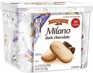 ihocon: Pepperidge Farm Milano Cookie Tub, 15 Ounce