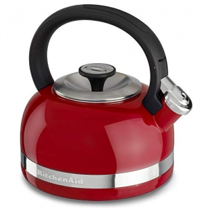 ihocon: KitchenAid KTEN20DBER 2.0-Quart Kettle with Full Handle and Trim Band - Empire Red   煮水壺