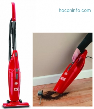 ihocon: Dirt Devil Simpli-Stik Lightweight Corded Bagless Stick Vacuum, SD20000RED