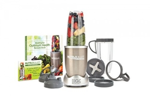 ihocon: NutriBullet Pro - 13-Piece High-Speed Blender/Mixer System with Hardcover Recipe Book Included (900 Watts)    - 包含精裝食譜書的13件式高速攪拌機/攪拌機系統(900瓦)