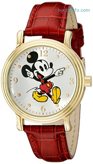 ihocon: Disney Women's W001870 Mickey Mouse Watch