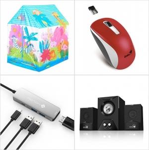[Amazon折扣碼] 兒童遊戲帳, 無線滑鼠, USB C Hub, Gaming Speaker 額外折扣!