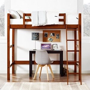 ihocon: Your Zone Collection Twin Wood Loft Bed