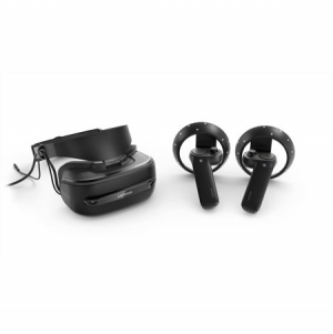 ihocon: Lenovo Explorer Bundle, Windows Mixed Reality Headset with Controllers, Iron Grey, G0A20002WW