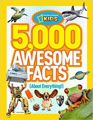 ihocon: National Geographic Kids 5,000 Awesome Facts, Hardcover精裝本