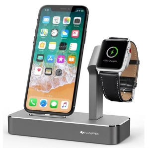 ihocon: iVAPO 2 in 1 Apple Watch Stand