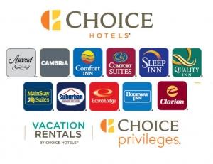 Choice Privileges會員: 住宿可集點換取旅館住宿, 機票或Gift Card!