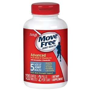 ihocon: Move Free Advanced Plus MSM and Vitamin D3, 120 tablets - Joint Health Supplement with Glucosamine and Chondroitin