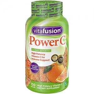 Vitafusion 成人維他命C軟糖150粒 $5.12免運(原價$12, 57% Off)