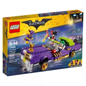 ihocon: THE LEGO BATMAN MOVIE 樂高蝙蝠俠電影系列The Joker Notorious Lowrider 70906
