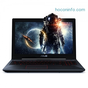 "ihocon: ASUS FX503VD 15.6"" FHD Powerful Gaming Laptop, Intel Core i7-7700HQ Quad-Core 2.8GHz (Turbo up to 3.8GHz) Processor, 4GB GTX 1050, 128GB SSD + 1TB HDD, 8GB DDR4, Windows 10 Home"