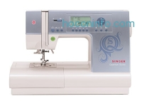 ihocon: SINGER 9980 Quantum Stylist 820-Stitch Computerized Portable Sewing Machine with Large LCD Screen and 13 Presser Feet 勝家縫紉機