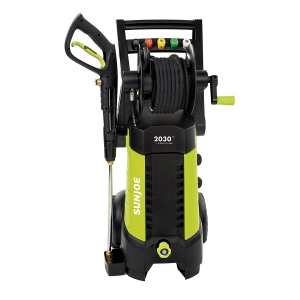 ihocon: Sun Joe SPX3001 2030 PSI 1.76 GPM 14.5 AMP Electric Pressure Washer with Hose Reel, Green 高壓清洗機
