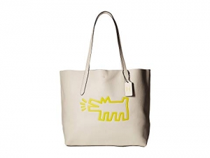 ihocon: COACH包包 Keith Haring Hudson Leather Tote
