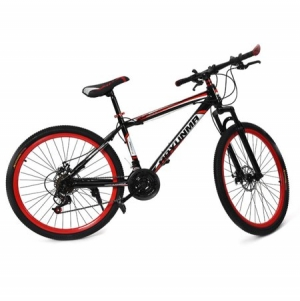 ihocon: Dilwe 26inch 21 Speed Dual Disc Brake Damping Mountain Bike Adults Teenagers,Mountain Bike, 26inch Bike - Walmart.com  26 21速雙碟剎減震山地車成人青少年,山地車,26英寸自行車 -  .