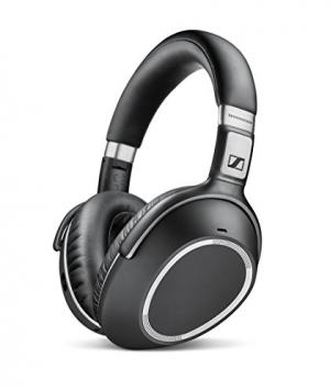 ihocon: Sennheiser PXC 550 Over-Ear Wireless Bluetooth NoiseGard Adaptive Noise Cancelling Headphones (Black) 藍芽無線消噪耳機