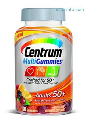 ihocon: Centrum Multi-Gummies Adult 50+, 120 Count