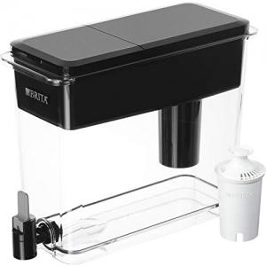 ihocon: Brita Extra Large 18 Cup UltraMax Water Dispenser and Filter - BPA Free - Black 超大18杯飲水過濾器+1個濾芯