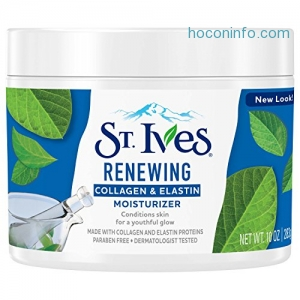 ihocon: St. Ives Facial Moisturizer, Collagen Elastin, 10 oz