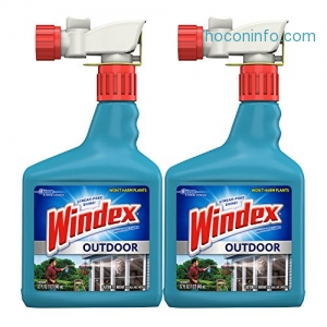 ihocon: Windex Outdoor Glass and Patio Concentrated Cleaner, 32 Ounce, Pack of 2