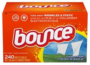 ihocon: Bounce Fabric Softener and Dryer Sheets, Outdoor Fresh, 240 Count 織物柔軟烘紙