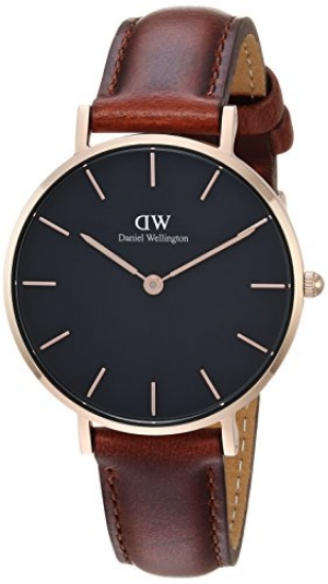 ihocon: Daniel Wellington Classic Petite St Mawes in Black 32mm 女錶