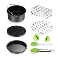 ihocon: Air Fryer Accessories 8pcs 氣炸鍋配件