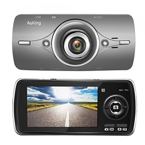 ihocon: AuKing 2.7 LCD Full HD 1080P Dash Cam, with G-Sensor, Automatic Loop Recording, WDR, Parking Monitoring,Motion Detection 汽車行車記錄器