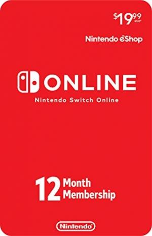 ihocon: Nintendo Switch Online 12-Month Membership