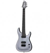 ihocon: Schecter Keith Merrow KM-7 7-String Electric Guitar (Satin Transparent White) 7絃電吉他