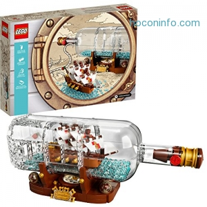 ihocon: LEGO IDEAS 21313 Ship in a Bottle 962 piece set