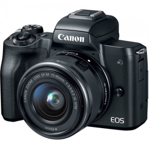 ihocon: Canon EOS M50 Mirrorless Digital Camera with 15-45mm Lens 無鏡單反相機