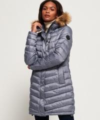 ihocon: Superdry Chevron Faux Fur Super Fuji Jacket