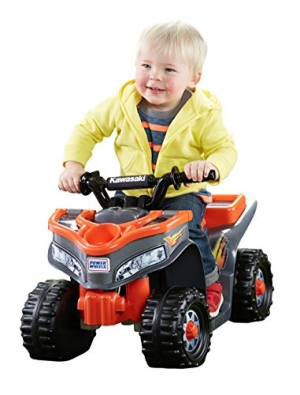 ihocon: Power Wheels Kawasaki Lil' Quad 幼兒電動車