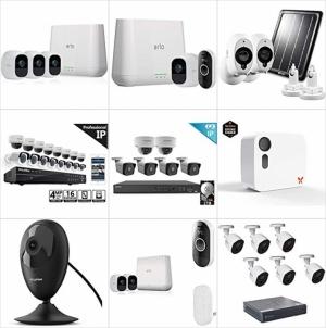 [Amazon今日特賣] 多款居家防盜監視系統 特賣!