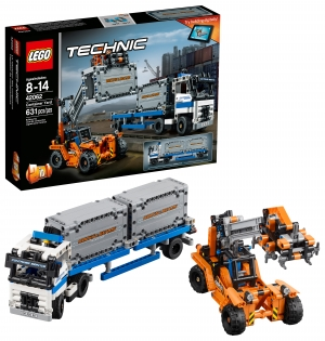 ihocon: LEGO Technic Container Yard 42062