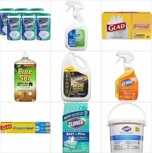 [今日特賣] Amazon: Clorox垃圾袋, 清潔劑, 濕巾, 保鮮膜…等 up to 63% off