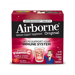 ihocon: Airborne Very Berry Effervescent Tablets, 30 count