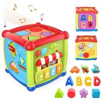 ihocon: TUMAMA Activity Cube Toys 嬰,幼兒音樂, 形狀, ABC益智玩具