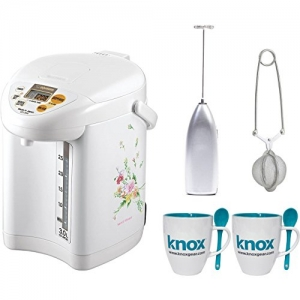 ihocon: Zojirushi CD-JWC30FZ Micom Water Boiler & Warmer電熱水瓶+奶泡器+泡茶器+茶杯組