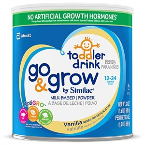 ihocon: Go & Grow By Similac Milk Based Toddler Drink, Vanilla, Powder, 1.5lbs (Pack of 4)