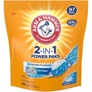 ihocon: Arm & Hammer 2-IN-1 Laundry Detergent Power Paks, 97 Count (Packaging May Vary) 2合1洗衣錠