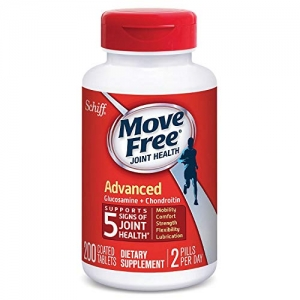 ihocon: Move Free Glucosamine and Chondroitin Joint Health Supplement Tablets, 200 Count 關節保養