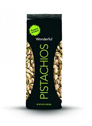 ihocon: Wonderful Pistachios, Roasted and Salted, 32 Ounce Bag 開心果